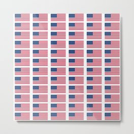 american flag 2-Usa,america,us,stars and strips, patriotic,patriot,united states,american,spangled Metal Print