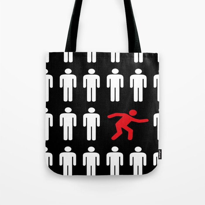 be different, be yourself Tote Bag