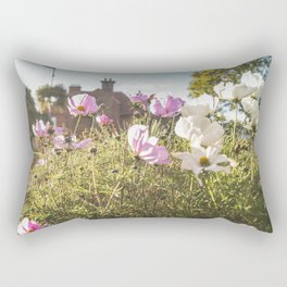 Flower house garden Rectangular Pillow