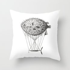 Airfish Express Throw Pillow