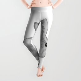 Little Bunny No. 1l by kathy Morton Stanion Leggings