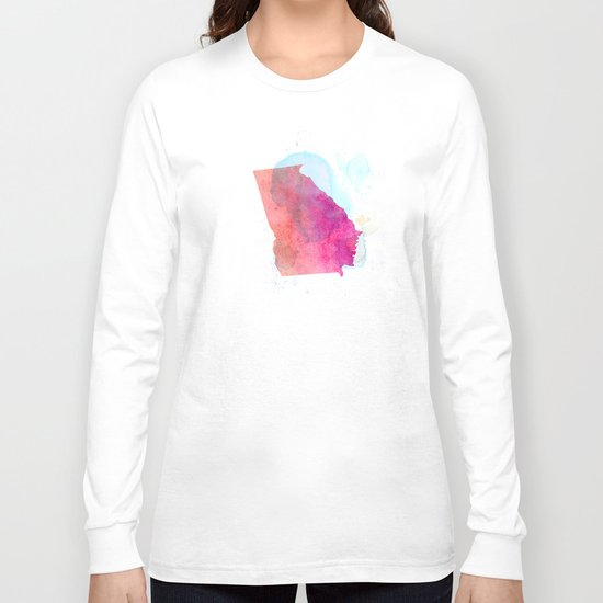 Georgia on my mind Long Sleeve T-shirt
