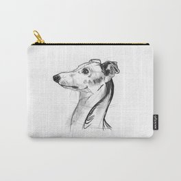 Italian Greyhound Sketch Carry-All Pouch