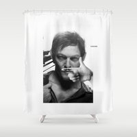daryl Shower Curtains featuring Daryl  by Adel