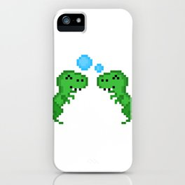 Dino Bubbles iPhone Case
