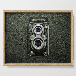 Ancient Dual Lens Camera Serving Tray