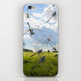 Idyllic dragonflies iPhone Skin