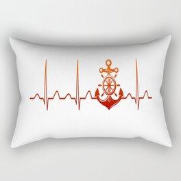 Sailor Heartbeat Rectangular Pillow