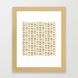 Cozy Coffee Framed Art Print