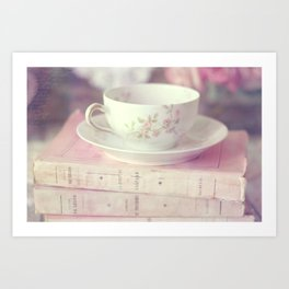 French Teacup Art Print