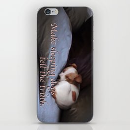 The Truth About Sleeping Dogs iPhone Skin