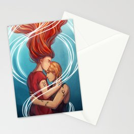 I heard your voice Stationery Cards