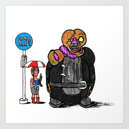"My Nemesis ""T""-toro! Art Print"