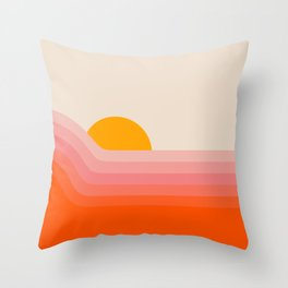 Strawberry Dipper Throw Pillow