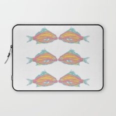 fish little kissing Laptop Sleeve
