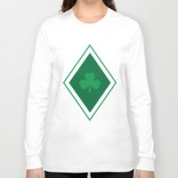 irish Long Sleeve T-shirts featuring Irish Argyle by Fimbis