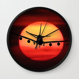 Emotions Fly Wall Clock