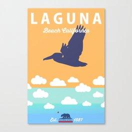Laguna Beach California. Canvas Print