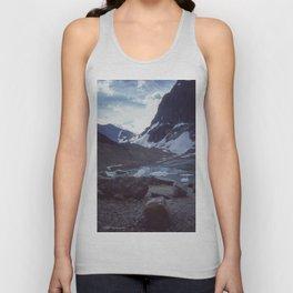 Cavell Glacier Encore Unisex Tank Top