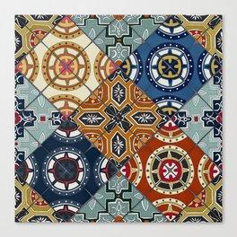 DESEO spanish tiles Canvas Print