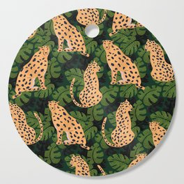Cheetah Pattern Cutting Board