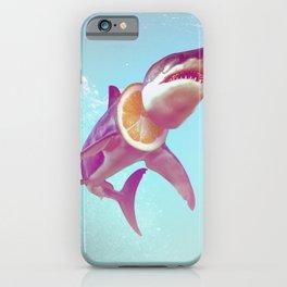 Lemon Shark iPhone Case