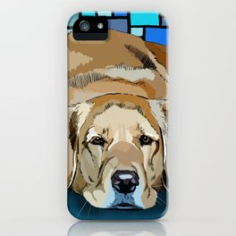 Honey, the Golden Retiever iPhone Case