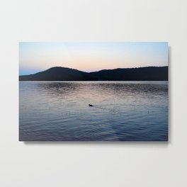 Serene Sunrise Metal Print