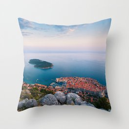 DUBROVNIK 06 Throw Pillow