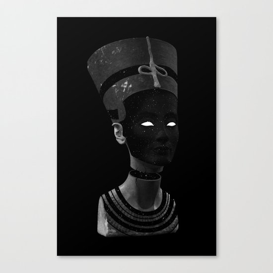 Nefertiti AD Canvas Print