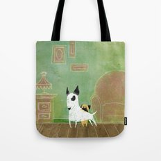 Let me see Tote Bag