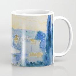 "Henri-Edmond Cross ""LE LAVANDOU. VUE DE LA JETÉE"" Coffee Mug"