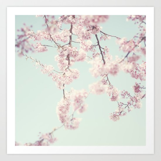 On a spring day Art Print