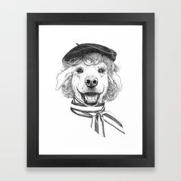 La Laika Framed Art Print