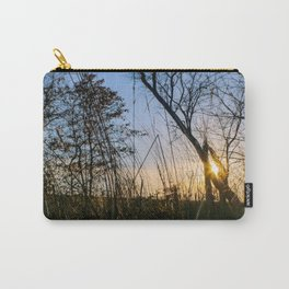 Sunset in Wolf's Hollow Carry-All Pouch