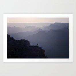 Grand Canyon Mist Art Print