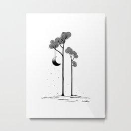 The moon trees Metal Print
