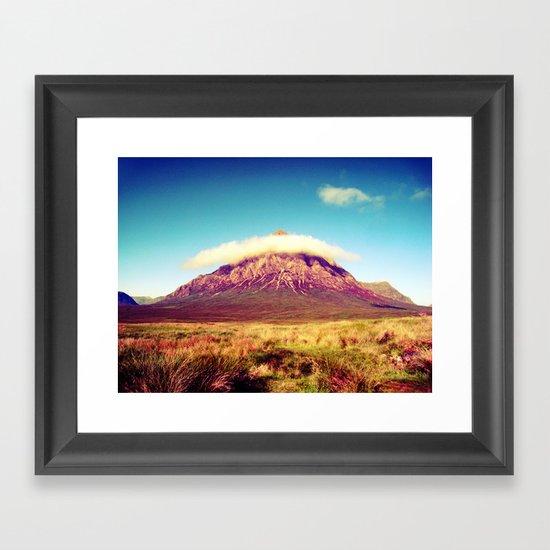Buachaille Etive Mòr, scotland. Framed Art Print