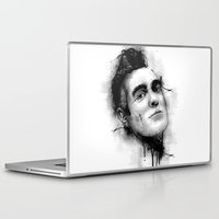 the smiths Laptop & iPad Skins featuring Smiths  by Mr Skillmatik