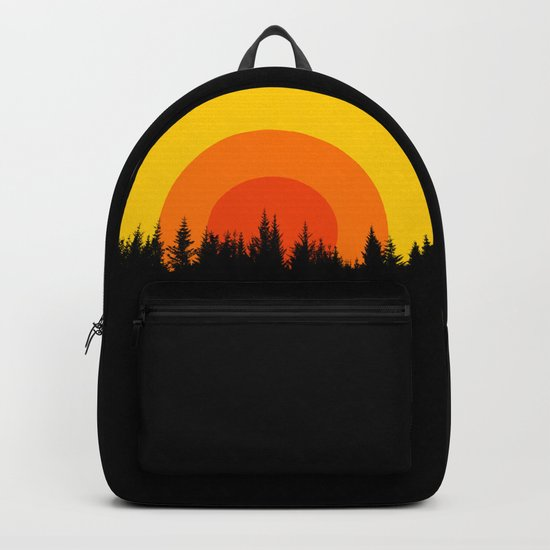 summer mountain Backpack