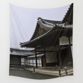 Temple at Kinkakuji in Kyoto, Japan Wall Tapestry
