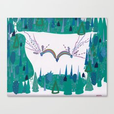 Whimsy, Forest Clearing Canvas Print