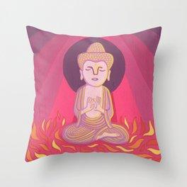 Buddha H Throw Pillow