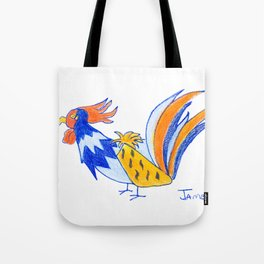 Rooster No. 3 Tote Bag