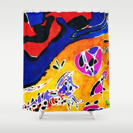 Until the River runs Dry         by Kay Lipton Shower Curtain