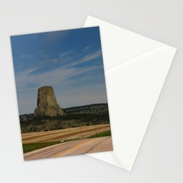 Road To Devils Tower Stationery Cards