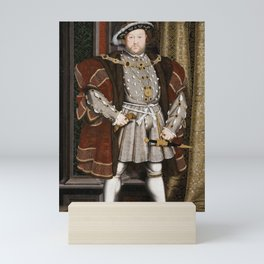 Portrait of Henry VIII - After Hans Holbien the Younger Mini Art Print