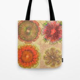 Nonpacificatory Structure Flowers  ID:16165-075207-87310 Tote Bag