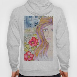 Lady of the blue manor Hoody
