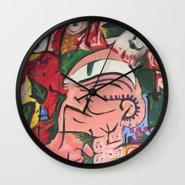 Bciv - Watch Me Pull A Rabbit Out Of My Head Wall Clock